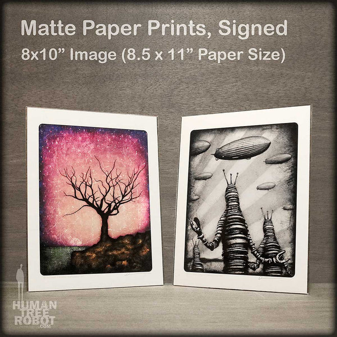 "8x10"" Paper Prints: Matte Paper with Border"