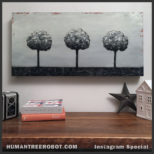 Tree Painting by Mark S Brunner of HumanTreeRobot.com