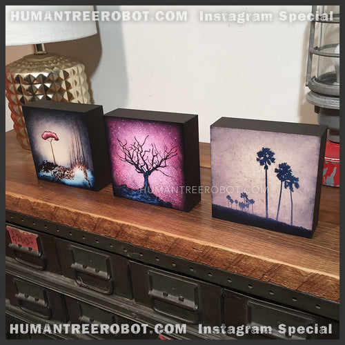 IG-0049 - 5x5 Wood Panel Print Set - LIMITED SIZE - Only available as IG Special