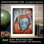 "IG-0043 - Instagram Special - Matte Paper Print 8x10"" - Free Shipping for this item!"