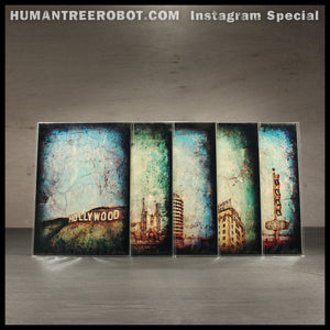 Instagram Special - 5x7 Borderless Prints 5 Piece Set - Hollywood Landmarks