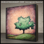 Instagram Special - 8x8 Wood Panel Print - Hill Tree