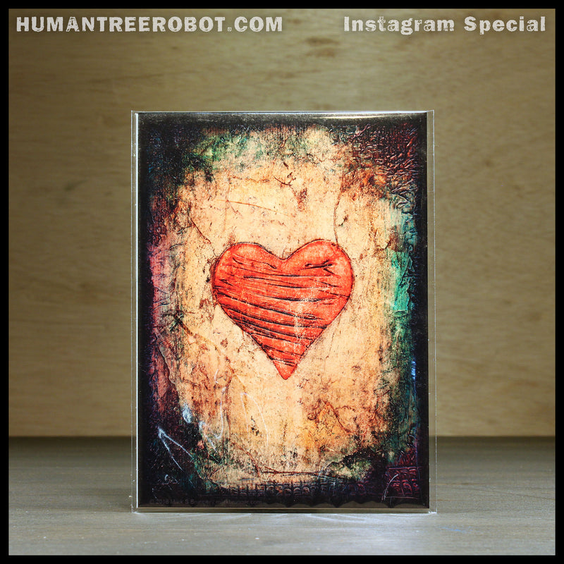 IG-0002 - Instagram Special - 5x7 Borderless Prints 4 Piece Set - Hearts And Headlines