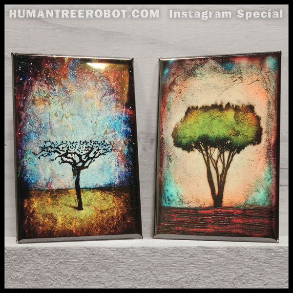 Instagram Special - 9 Piece Magnet Set - Trees