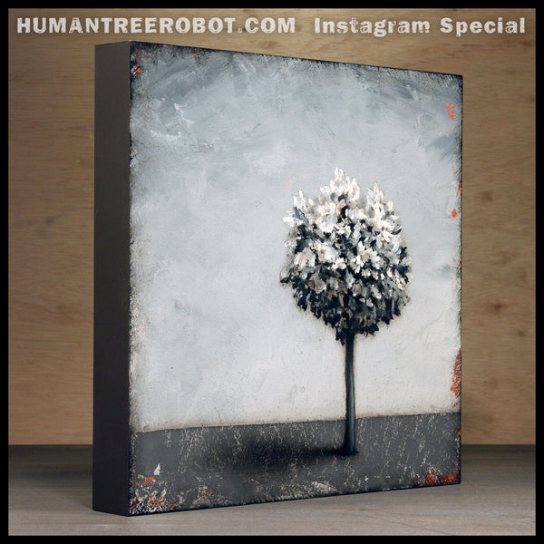 "Instagram Special - Original Painting - ""Shadow Tree"""