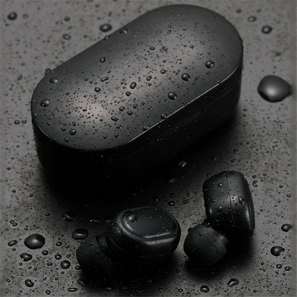 For Xiaomi Redmi TWS Airdots Headset Bluetooth 5.0 Earphone Stereo Earbuds black