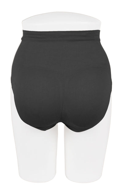 Ladies seamless high waist control briefs