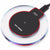 QI Standard Fashion Crystal Portable Fast Wireless Charger Charging Pad Stand for Apple Android HTC