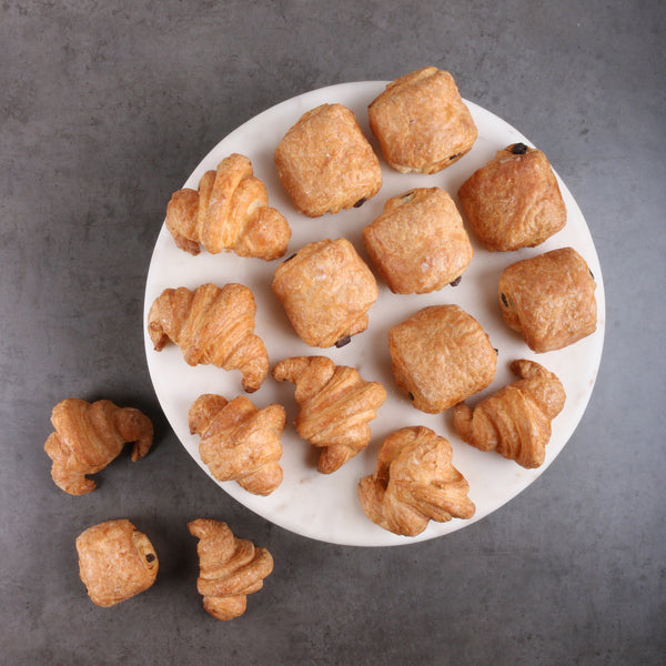 Mini Croissants Platter (14 Pieces)