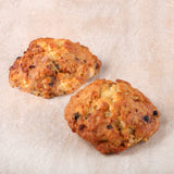 Blueberry White Choc Scone (4 pieces)