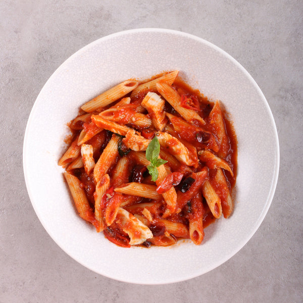 Chicken Arrabbiata Pasta Tray (8 - 10 Pax)