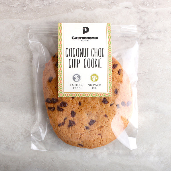 Coconut Choc Chip Cookies
