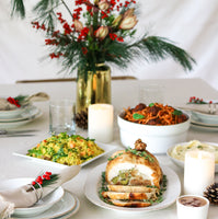 Florals & Feasting with Vase Arrangement (4 Pax)