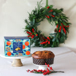 Panettone & Standard Wreath Gift Set