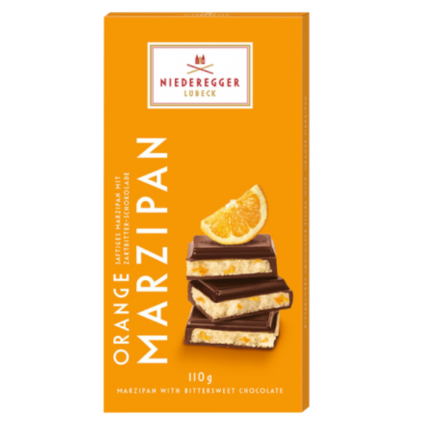 Niederegger Marzipan Orange Bar