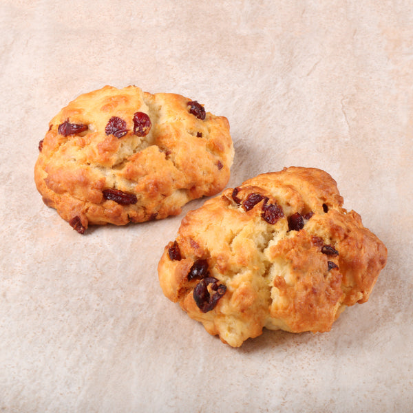 Orange Cranberry Scone (4 Pieces)