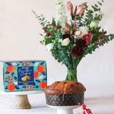 Panettone & Bouquet Gift Set