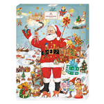 Niederegger Santa Claus Advent Calendar