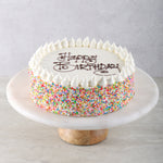 Kid's Vanilla Birthday Cake