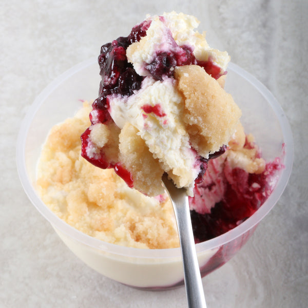 Berry Cheese Crumble Cup