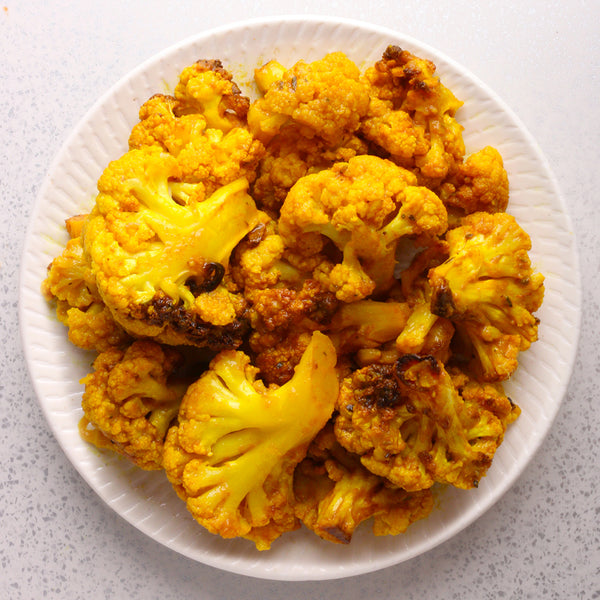 Roasted Turmeric Cauliflower*