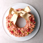 Raspberry White Chocolate Cornflakes Wreath