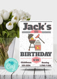 BBQ Birthday Party Invitation -Shop for BBQ Birthday Party Invitation