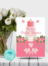 Load image into Gallery viewer, Bridal Shower Cake Party Invitation - Sunny Jar Designs