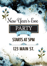 Load image into Gallery viewer, New Year's Eve Party Invite - Custom Design Party Invites and Personalized Announcements