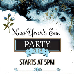 New Year's Eve Party Invite (Editable Download)