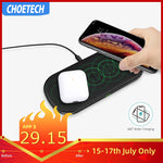 5 Coil Fast Wireless Charger