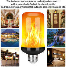 Load image into Gallery viewer, 🔥Wapike-LED flame effect bulb ( 4 flashing modes and Christmas decoration)🎄