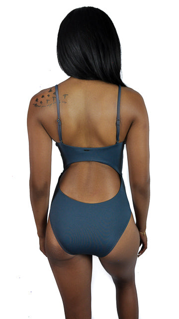 Tank One Piece in Deep Teal