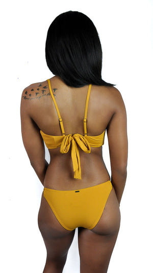 Salt Water Solids Multi Side Straps in Sunflower