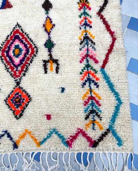 "Azilal Berber Rug ""Souky"""