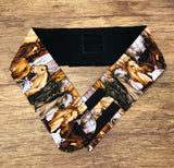 G Tube Belt - Choose own Fabric, All made to Custom Length