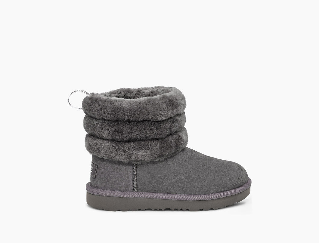 UGG FLUFF MINI QUILTED Kids Boots