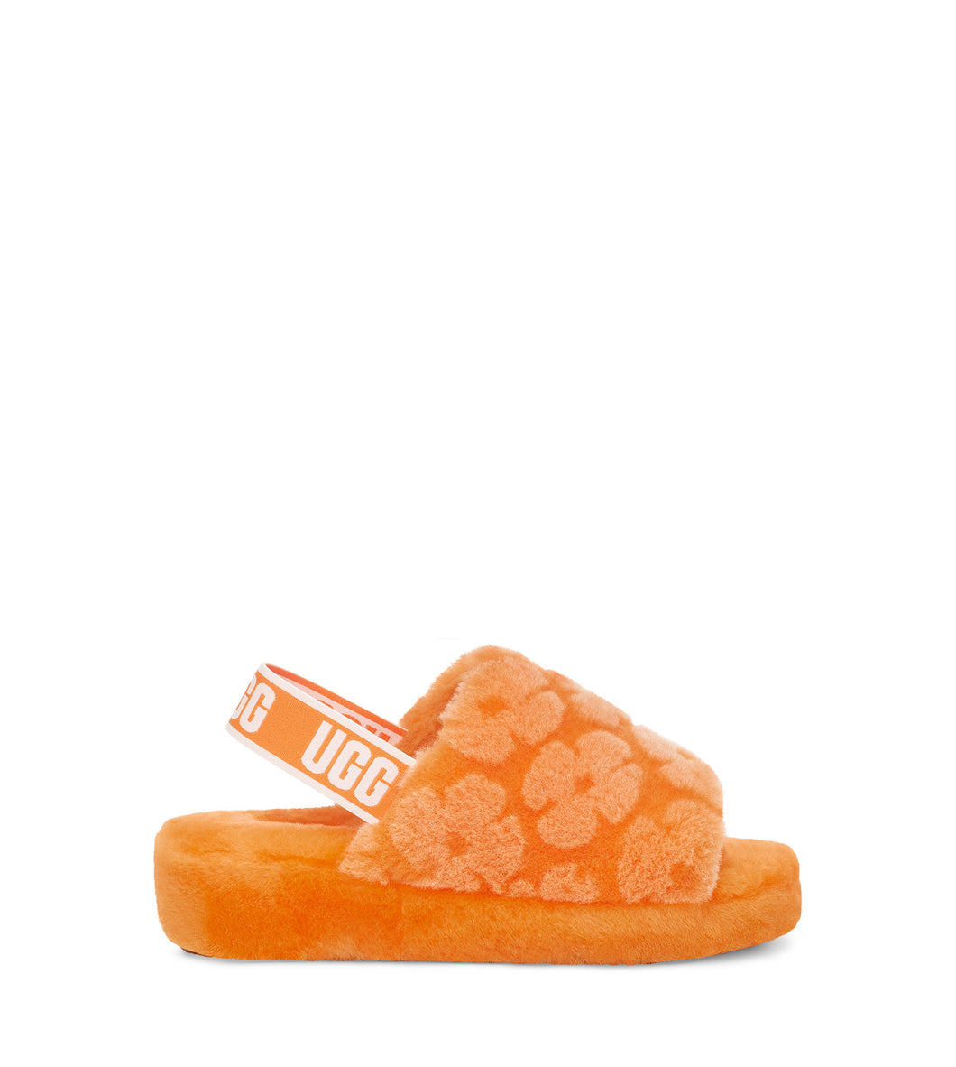 UGG FLUFF YEAH SLIDE POPPY Womens Slides