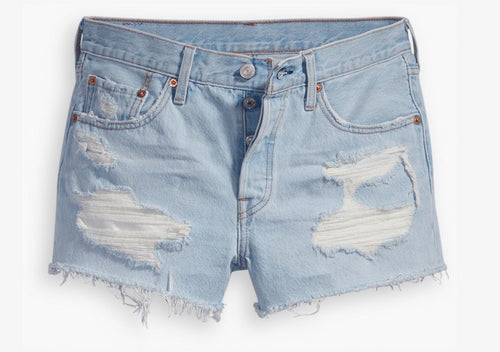 LEVIS 501 SHORT GOT OWNED Womens Apparel