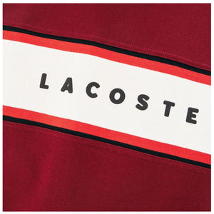 LACOSTE COLORBLOCK WITH GRAPHIC JERSEY MENS APPAREL