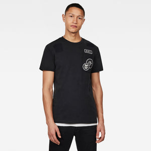 G-STAR CNY GRAPHIC R T S/S Mens Apparel