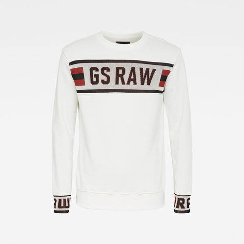 G-STAR JACQUAR SWEATSHIRT L/S Mens Apparel