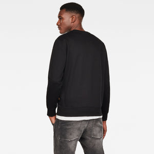G-STAR EMBRO PANELED GR R SW L/S Mens Apparel