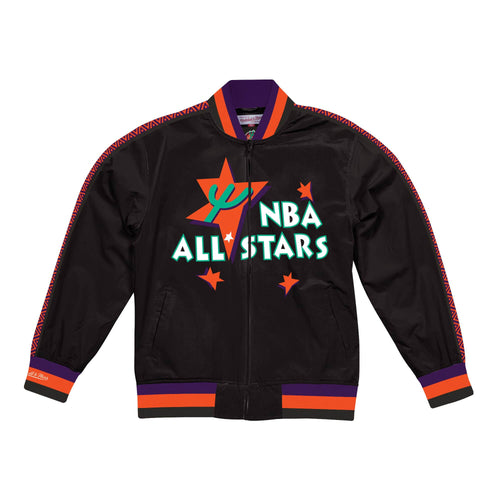 Mitchell & Ness Team History Warm Up Jacket 2.0 NBA All Star Mens Apparel