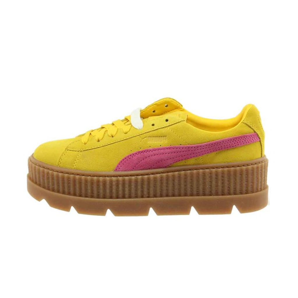 new product c7df0 c5128 PUMA FENTY BY RIHANNA CLEATED CREEPER WOMENS SNEAKERS