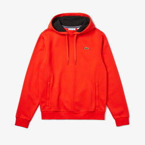 LACOSTE SPORT Hooded Fleece Tennis Sweatshirt Mens Apparel