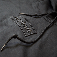 "asphalt EMBROIDERD LOGO ""MONO"" Hoodie Unisex Appreal"
