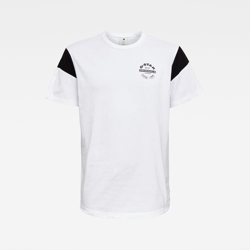 G-STAR Sport Panel Originals Logo GR T-Shirt Mens Apparel
