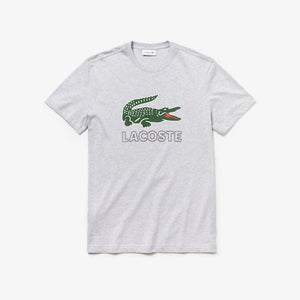 LACOSTE GRAPHIC JERSEY CROC REGULAR FIT MENS APPAREL