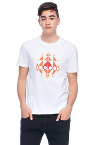 MOOSE KNUCKLES TRIPPY LOGO SHIRT Mens Apparel